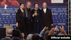 Adina Pintilie și echipa sa la Berlinale (Foto: Berlinale 2018)