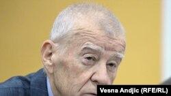 Živorad Kovačević tokom zasedanja Igmanske inicijative, Beograd, 12. novembar 2009.
