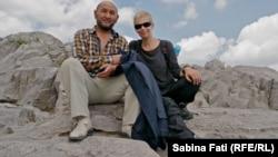 Pe Muntele Suleyman în Tadjikistan