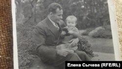 Галина Кочина с отцом