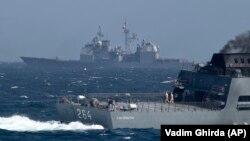 Корабли НАТО в Черном море, архивное фото