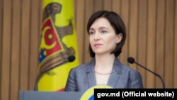 Moldovan Prime Minister Maia Sandu (file photo)