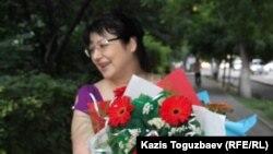 Гузяль Байдалинова. Алматы, 12 шілде 2016 жыл.