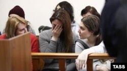 """Обвиняемые по делу """"Нового величия"""" в суде"""