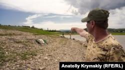 Порятунок з небес. Сімферопольське водосховище поповнюється дощовими стоками (фотогалерея)