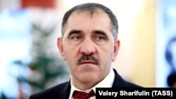 Yunus-bek Yevkurov is the former head of Russia's Republic of Ingushetia (file photo)