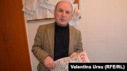 Tudor Iașcenco, redactorul șef al ziarului Cuvântul