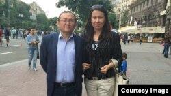 Гаяна Юксель із чоловіком Ісметом Юкселем