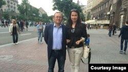 Главный редактор QHA Гаяна Юксель и ее муж Исмет Юксель