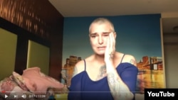 Sinead O'Connor-un təşviş doğuran videosundan kadr
