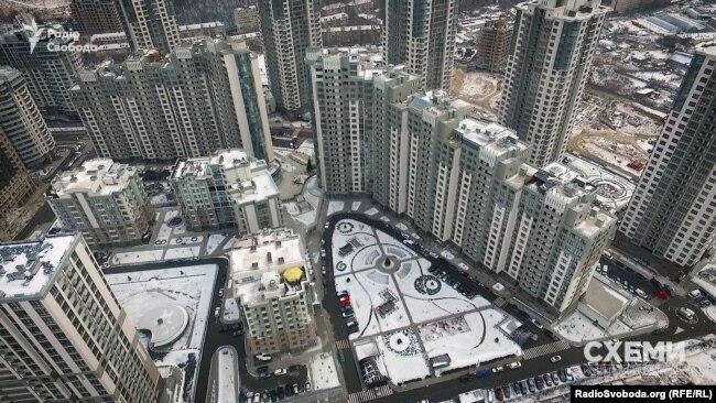 Елітний житловий квартал «Новопечерські Липки» у центрі Києва