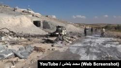 Последствия бомбардировки больницы в Хассе