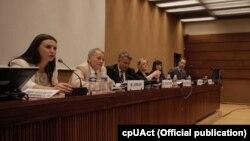 Заседание Совета ООН по правам человека с участием лидера крымских татар Мустафы Джемилева (архивное фото)
