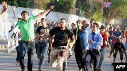 Під час сутичок у Каїрі, фото 22 липня 2013 року