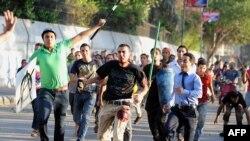 Столкновения сторонников Мохаммеда Мурси с силами безопасности в Каире, 22 июля