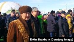 Нурсултан Назарбаев и Касым-Жомарт Токаев во время празднования Наурыза. Нур-Султан, 21 марта 2019 года.