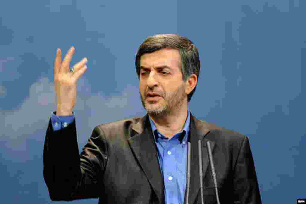 """Mashaei is considered the main theoretician of Ahmadinejad's camp and is a hated figure among hard-liners, who have accused him of being the main figure of a """"deviant current"""" that threatens the foundation of the clerical establishment. One lawmaker said in December that Mashaei has already begun his campaign."""