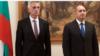 Ген. Красимир Станчев (вляво) и президентът Румен Радев