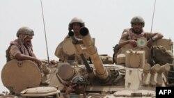 Проурядові війська побіля міста Аден, Ємен, 3 серпня 2015