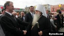 Аляксандар Косінец і мітрапаліт Філярэт
