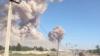 Клубы дыма над город Арысь, 24 июня 2019 года.