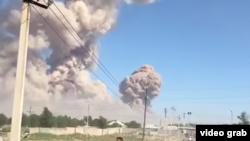 Взрыв в Арыси.