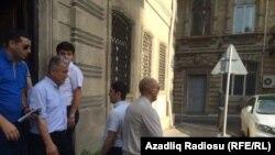Рашад Мамедов вышел на свободу