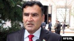 Исмоил Талбаков, кандидат в президенты от Коммунистической партии Таджикистана.