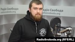 Ігор Вдовін, прес-секретар організації «Національні дружини»