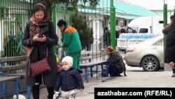 Aşgabadyň Teke bazary (arhiw suraty)