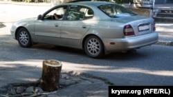Аварійна дорога в Сімферополі, ілюстративне фото