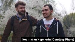Зорян Кісь (ліворуч) і Тимур Левчук