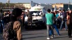 Машина НТВ 6 мая на Болотной