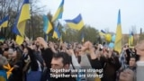 'We Don't Need Russia's Help' - Donetsk Residents Rally For Sovereign Ukraine