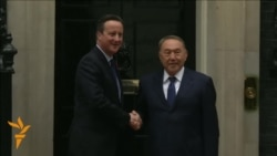 Nazarbaev Meets Cameron In Downing Street