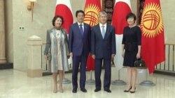 Встреча Атамбаева и Синдзо Абэ