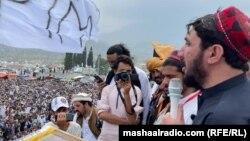 منظور پشتین رهبر جنبش تحفظ پشتون