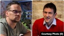 România - Răzvan Luca (stânga) și Vasile Oniță (dreapta), investitori Bitcoin