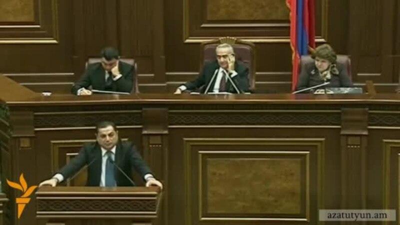 Глава фракции РПА: «В зале парламента я почувствовал запах алиевских нефтедолларов»