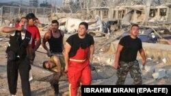 در انفجار عظیم در بندر بیروت دهها نفر کشته و هزاران نفر نیز زخمی شدهاند