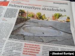 Balesetveszély Szegeden. Délmagyarország.