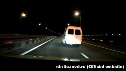 Погоня на Керченском мосту
