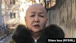 Урбигуль Садуова. Шымкент, 14 января 2021 года.