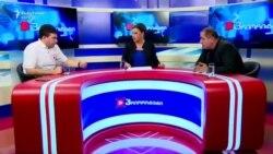 Rrahja gjatë debatit televiziv në Gjeorgji