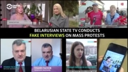Fake News: Belarusian State TV Presents The Same People In Various Roles