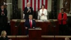 Pelosi shqyen fjalimin e Trumpit