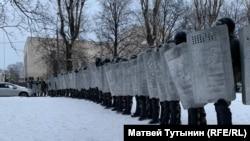 Акция протеста в Петербурге 31 января 2021 года