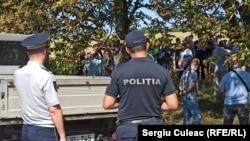 Protestele fermierilor din Lăpușna, Hâncești, 11 august 2020