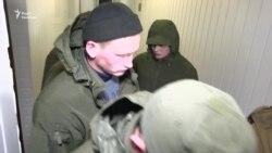 «Зелені чоловічки» з'явилися в Солом'янському суді Києва (відео)