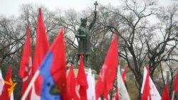 """""""Revoluţia"""" comuniştilor"""